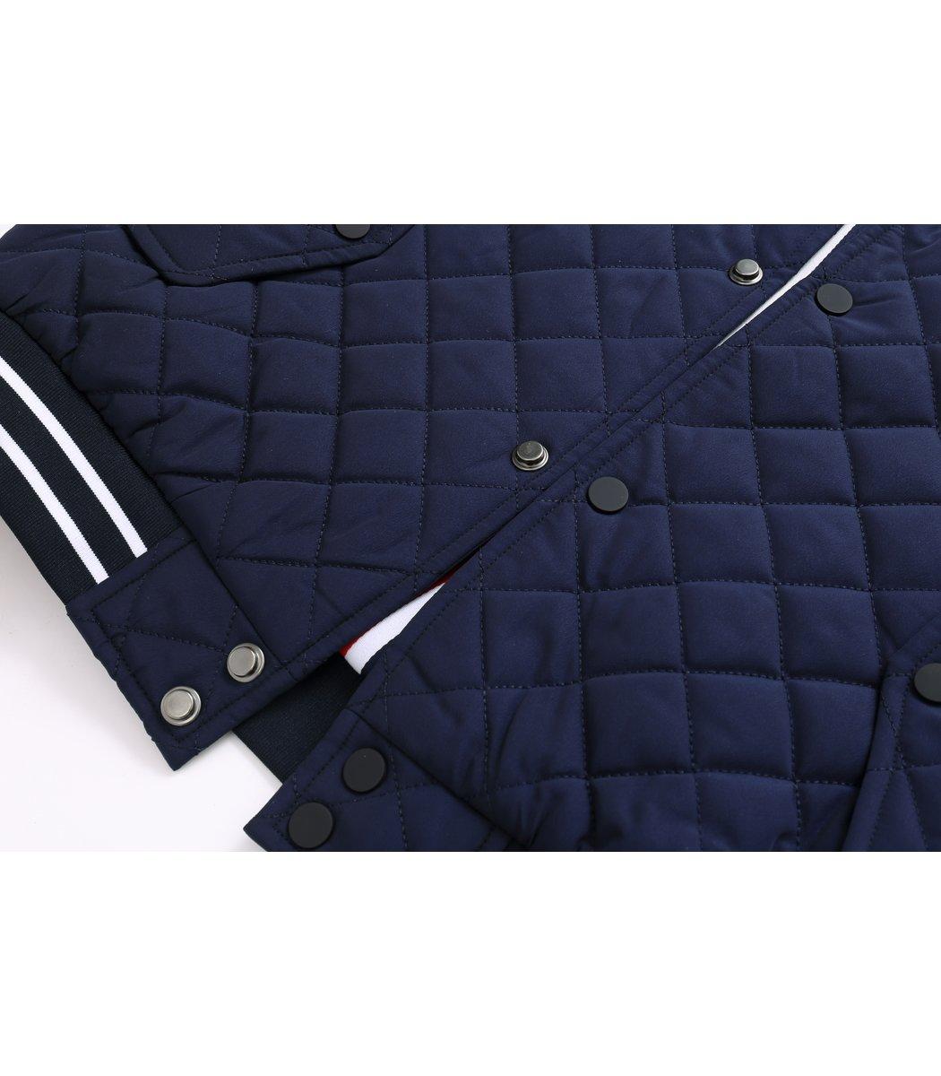 Темно-синяя стеганая куртка Paul&Shark PS6