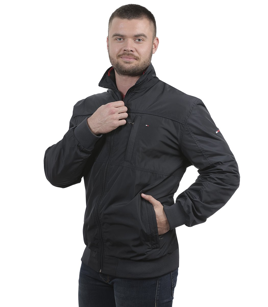 Темно-синяя куртка Tommy Hilfiger 5783