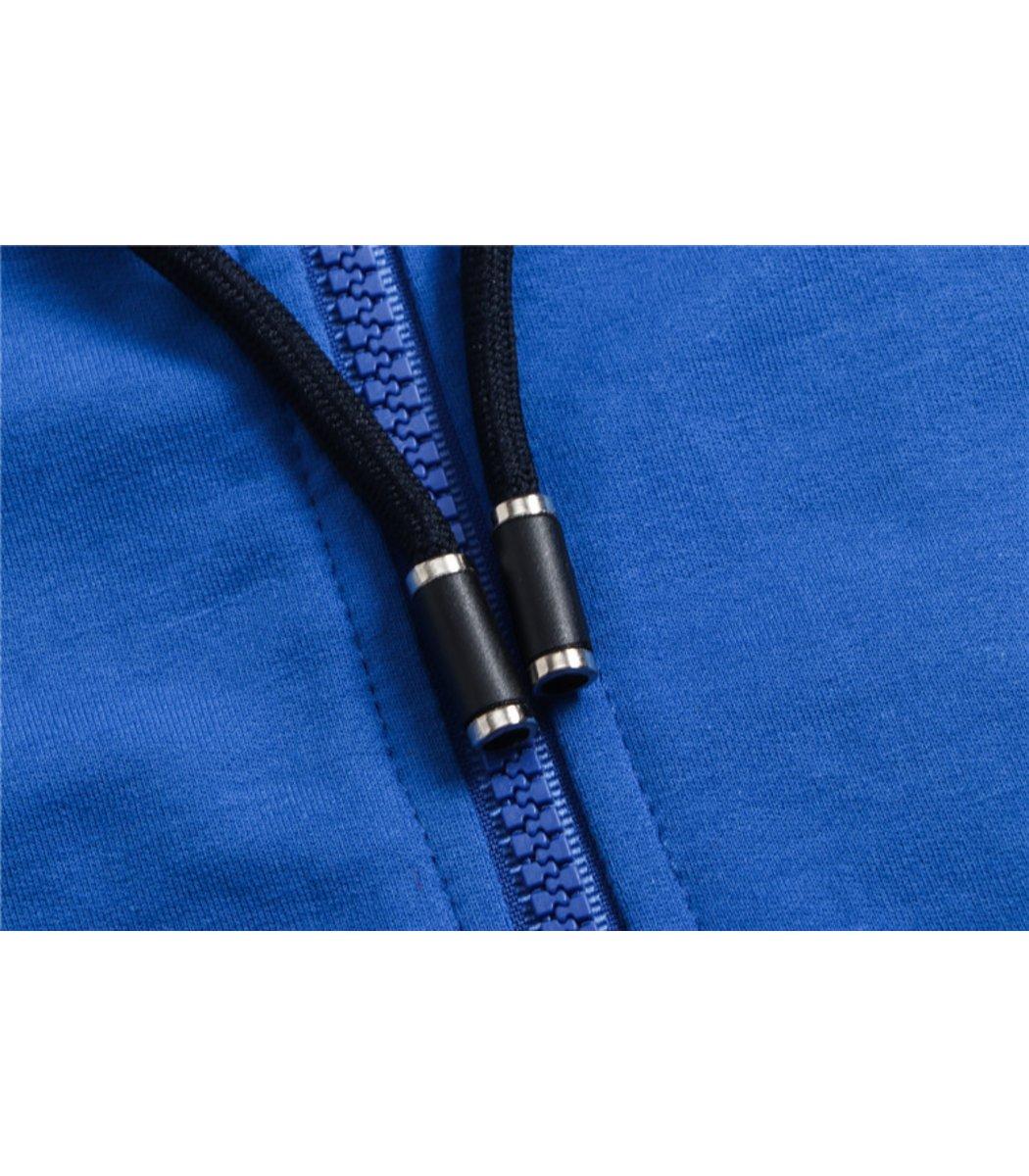 Голубой спортивный костюм EA7 с капюшоном (SpE1)