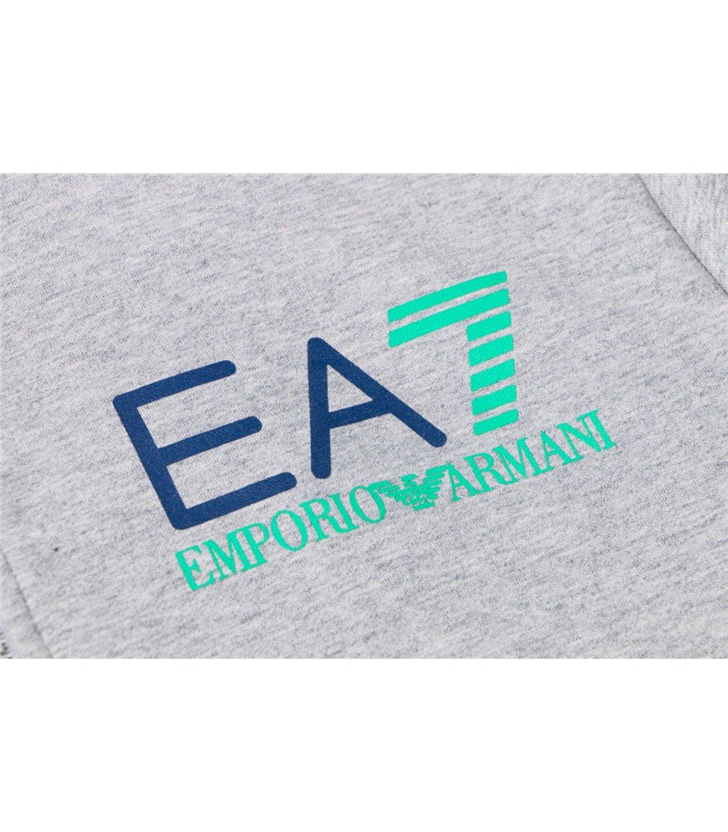 Cерый спортивный костюм EA7 (SpE2)