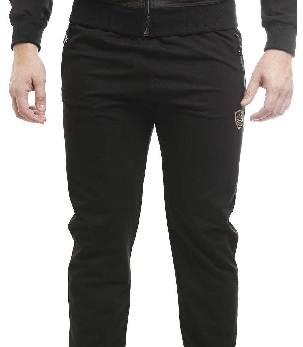 Черный спортивный костюм EA7 1224