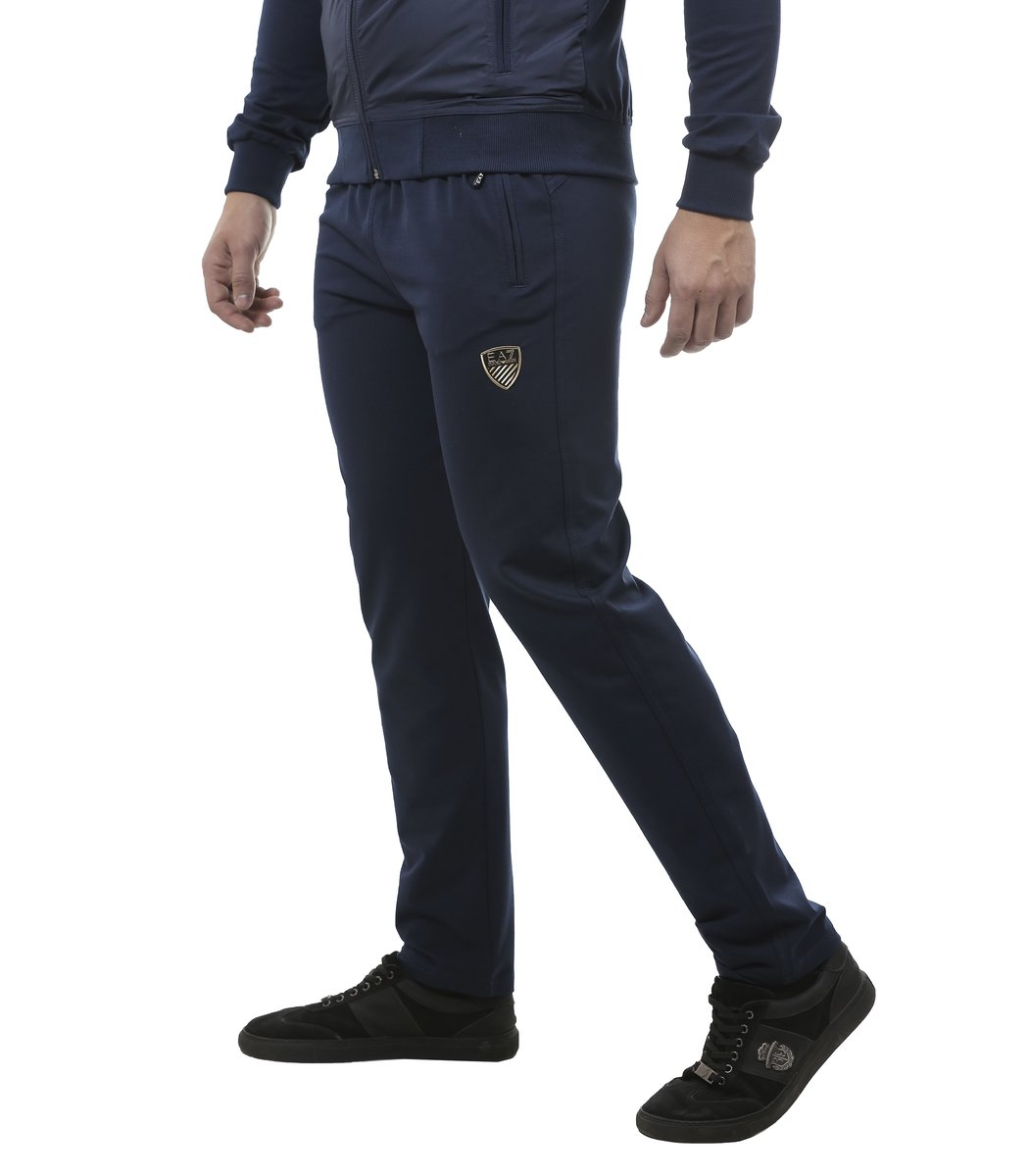 Синий спортивный костюм EA7 1224