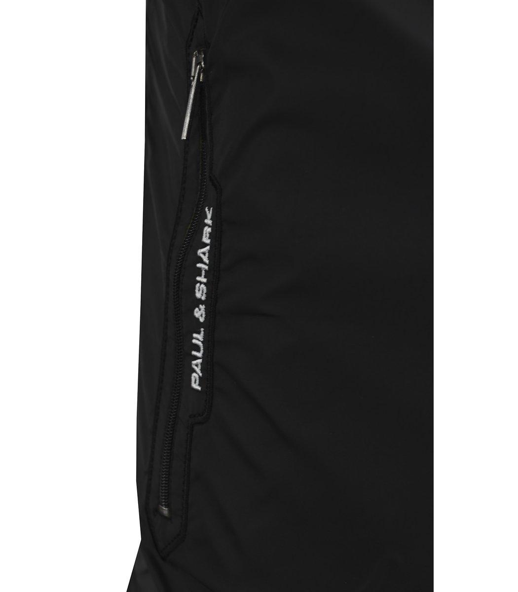 Утепленный черный спортивный костюм Paul&Shark 1481