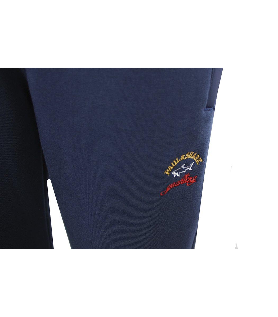 Утепленный синий спортивный костюм Paul&Shark 1481