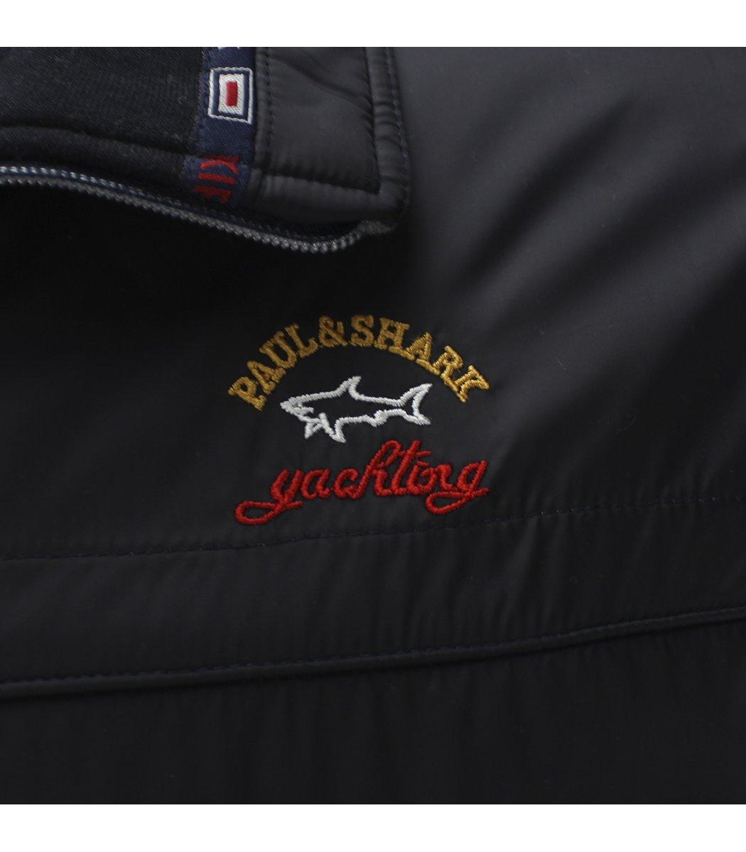 Утепленный серый спортивный костюм Paul&Shark 1481