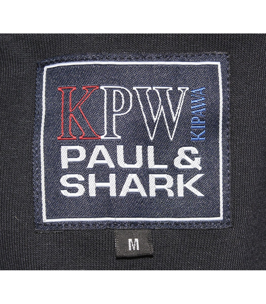 Утепленный темно-синий спортивный костюм Paul&Shark 1481