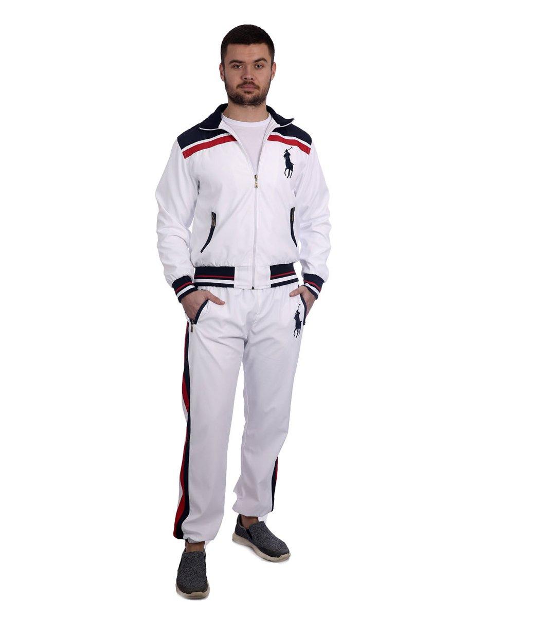 Спортивный костюм POLO Ralph Lauren Atlet Белый/синий - Белый - Вид 2
