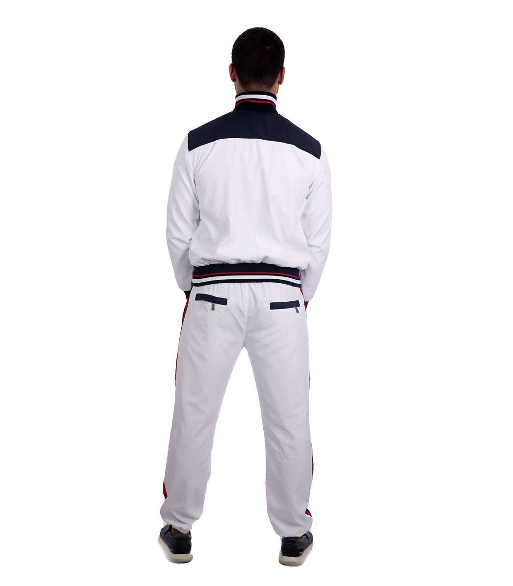 Спортивный костюм POLO Ralph Lauren Atlet Белый/синий - Белый - Вид 4