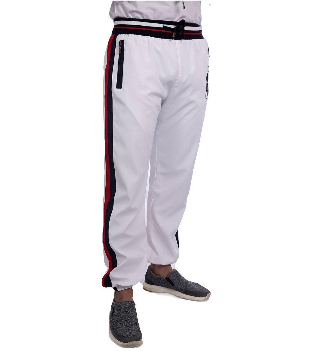 Спортивный костюм POLO Ralph Lauren Atlet Белый/синий - Белый - Вид 7