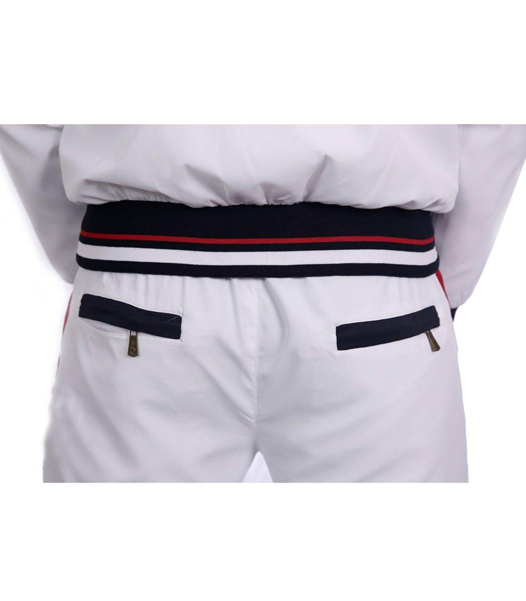 Спортивный костюм POLO Ralph Lauren Atlet Белый/синий - Белый - Вид 5