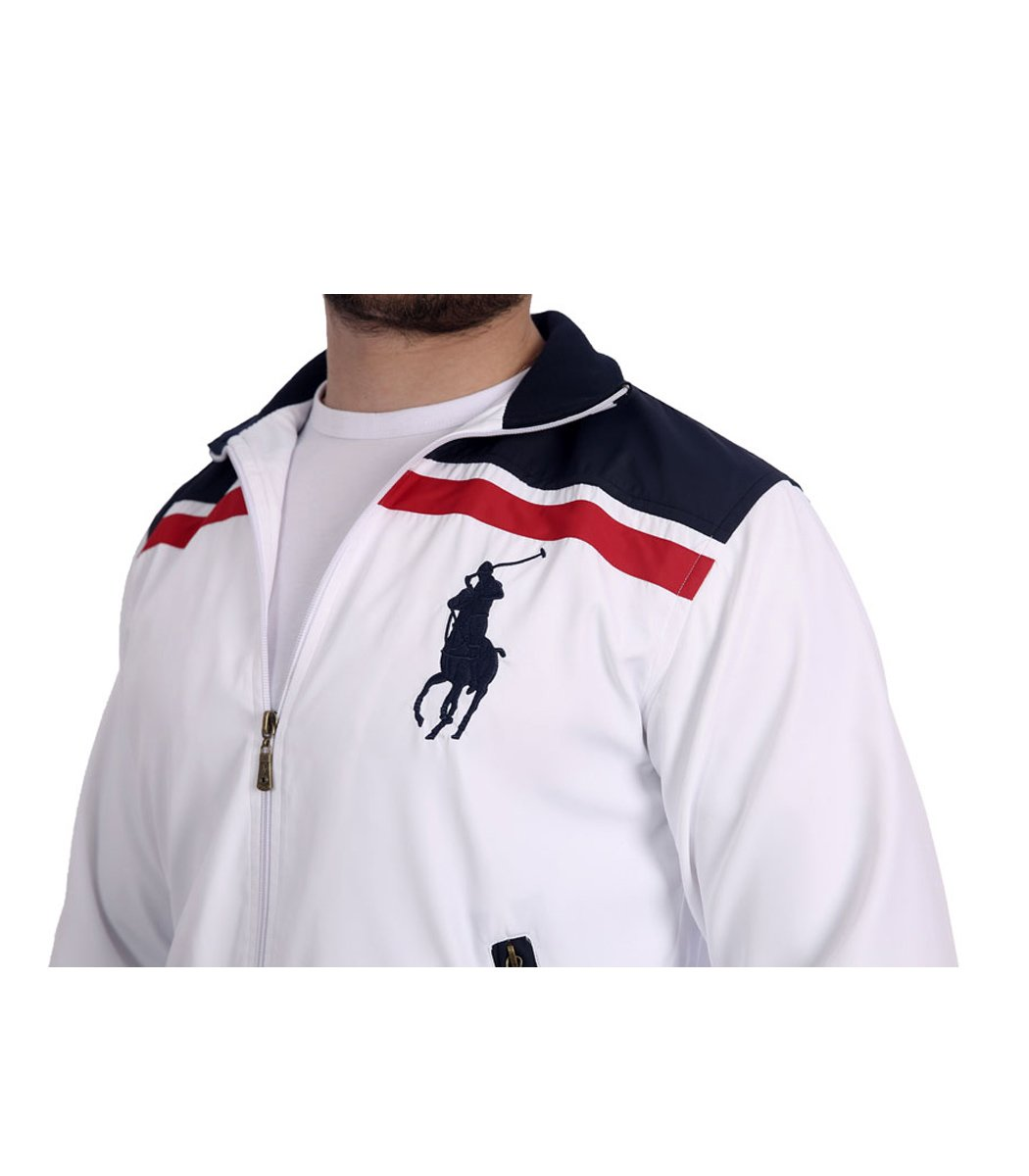 Спортивный костюм POLO Ralph Lauren Atlet Белый/синий - Белый - Вид 9
