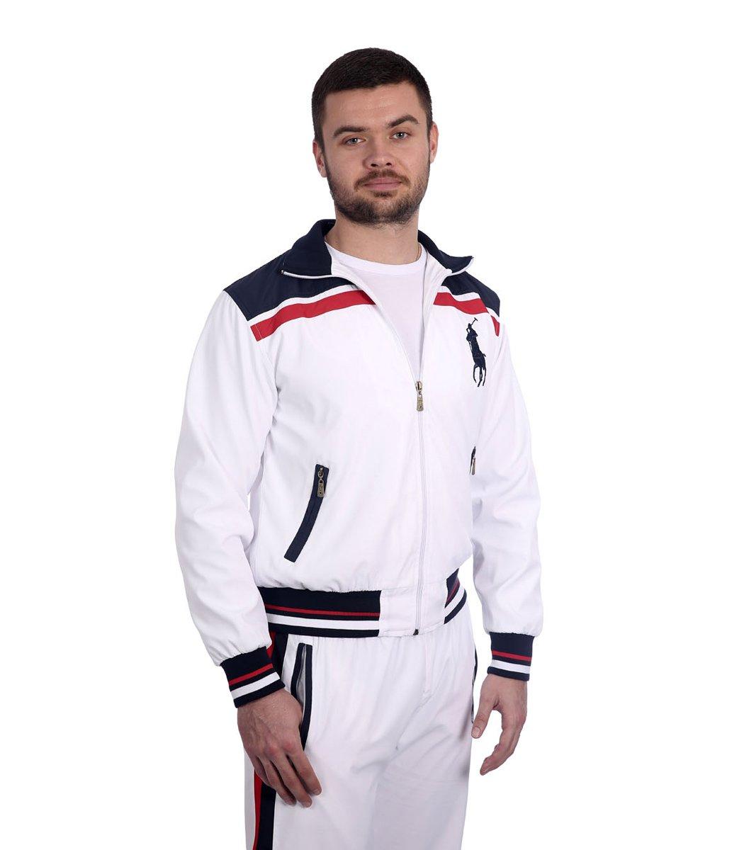 Спортивный костюм POLO Ralph Lauren Atlet Белый/синий - Белый - Вид 6