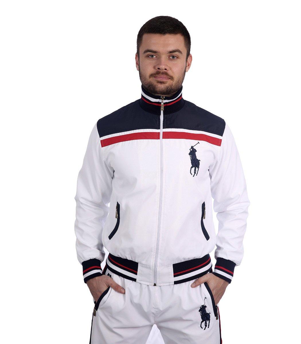 Спортивный костюм POLO Ralph Lauren Atlet Белый/синий - Белый - Вид 3