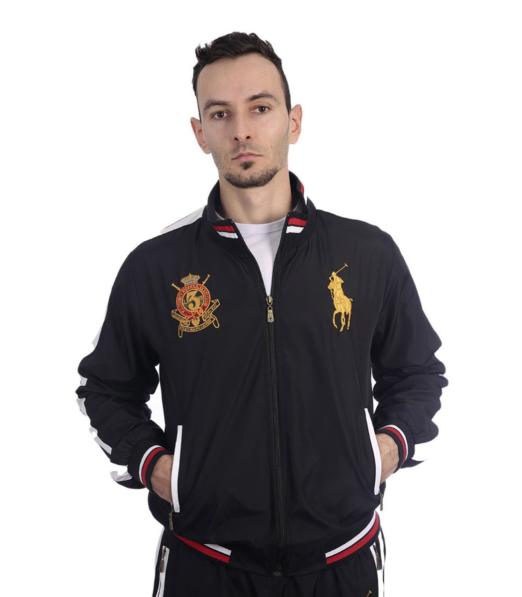 Спортивный костюм POLO Ralph Lauren Classic Черный/золотой