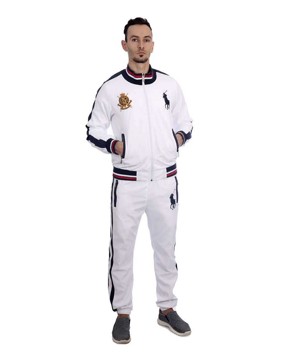 Спортивный костюм POLO Ralph Lauren Classic Белый/темно-синий