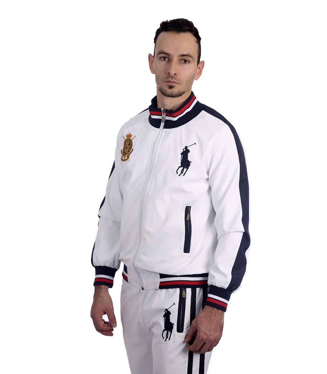 Спортивный костюм POLO Ralph Lauren Classic Белый/темно-синий - Белый - Вид 4