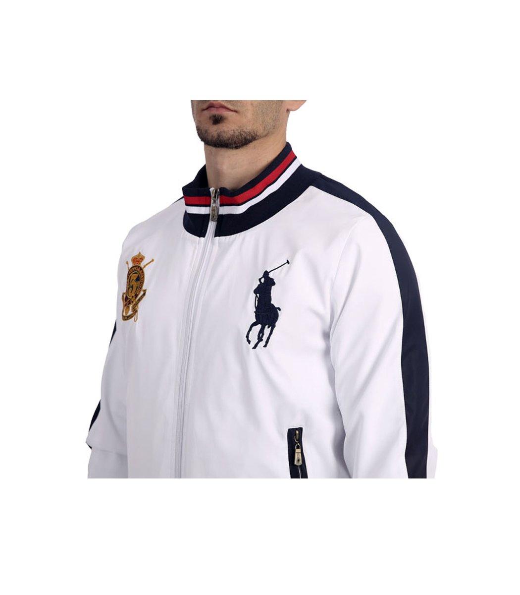 Спортивный костюм POLO Ralph Lauren Classic Белый/темно-синий - Белый - Вид 5