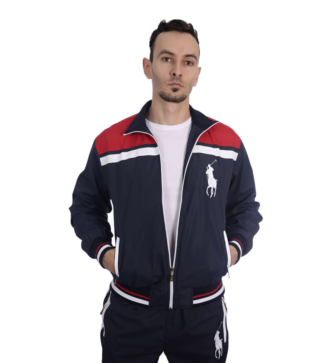 Спортивный костюм POLO Ralph Lauren Atlet Синий/красный