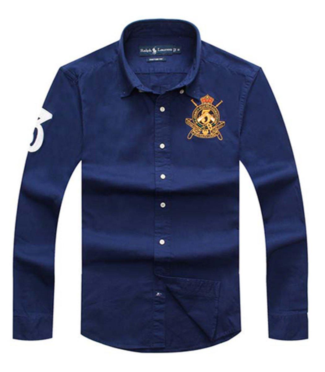 Рубашка POLO Ralph Lauren RR2 (Синий)