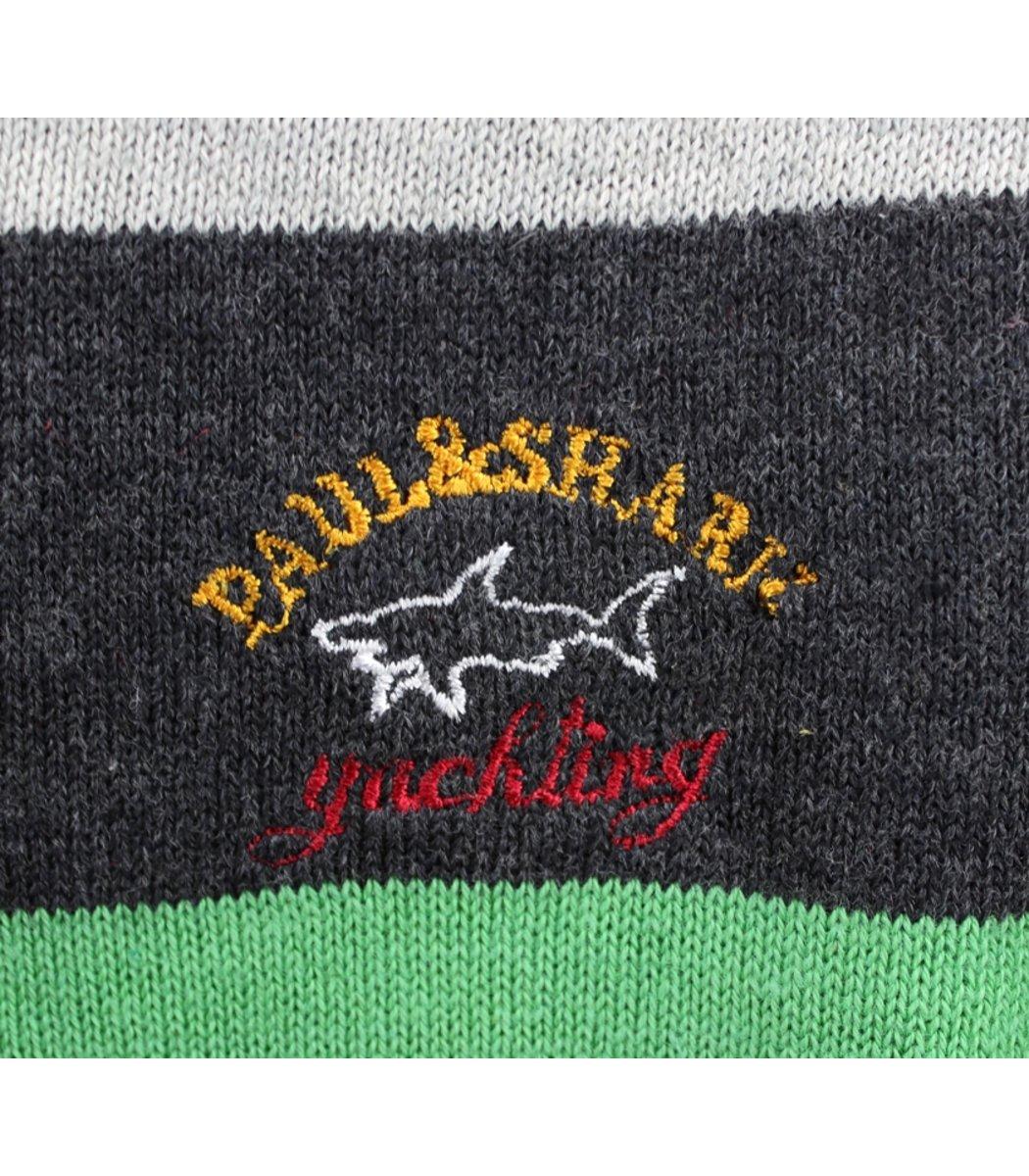 Джемпер в полоску Paul&Shark JP1 (Серый/белый)