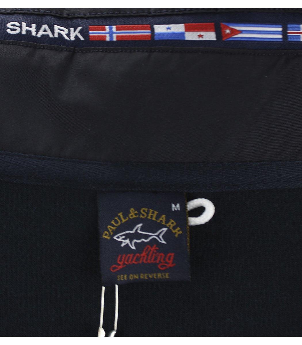 Темно-синяя кофта воротник стойка на молнии Paul&Shark CP6