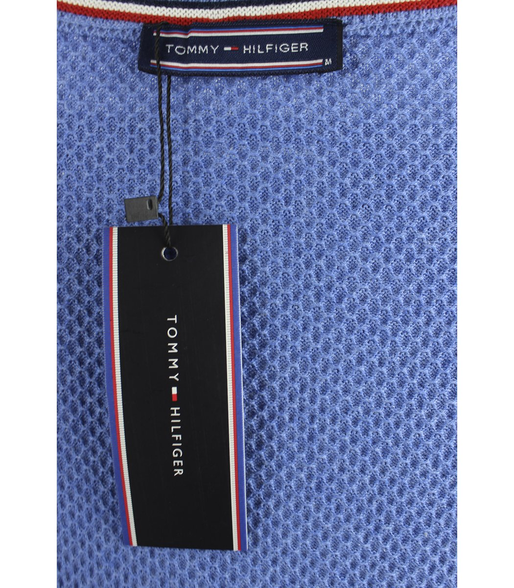 Голубой джемпер Tommy Hilfiger JT1