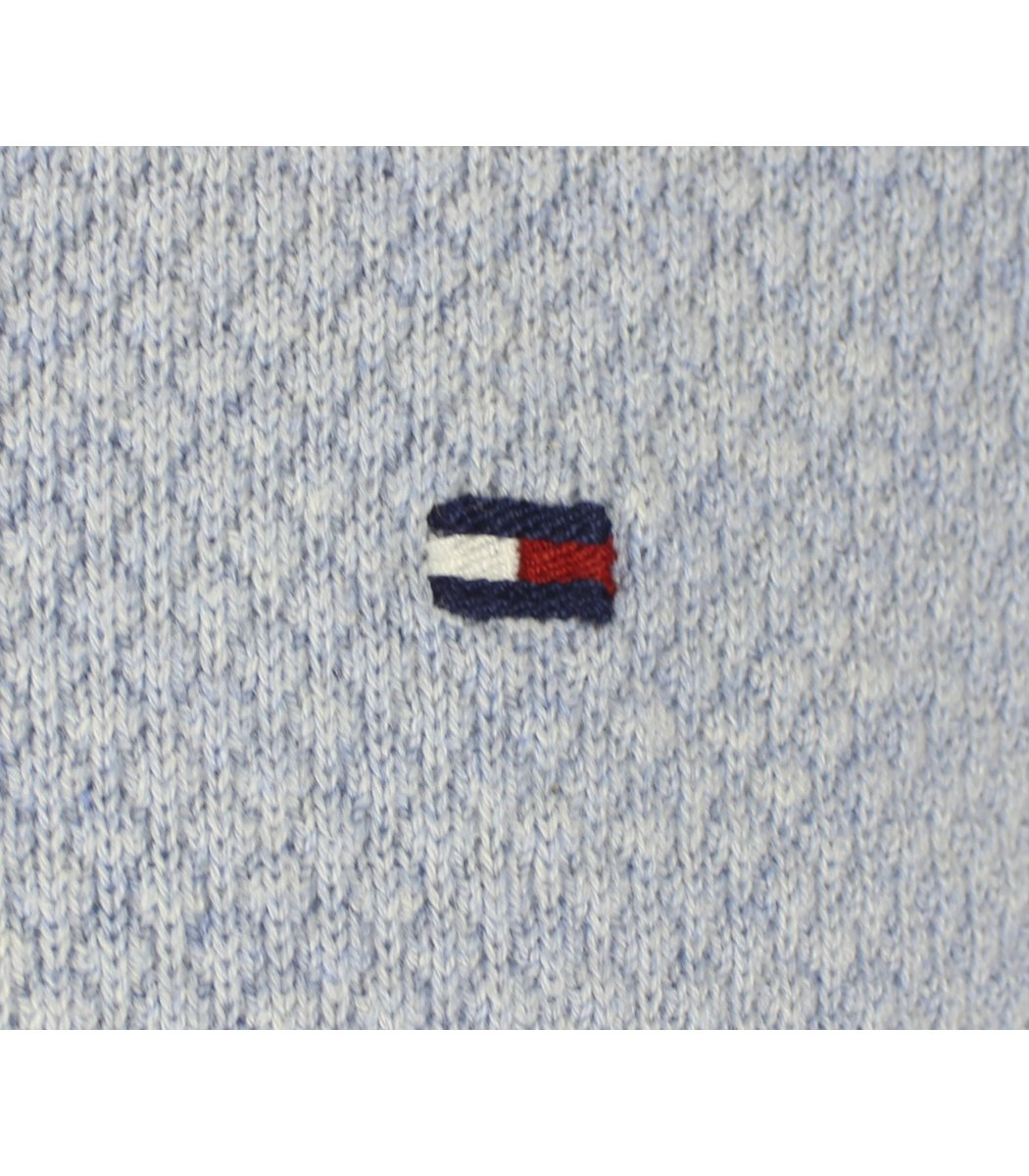Светло-голубой джемпер Tommy Hilfiger JT1