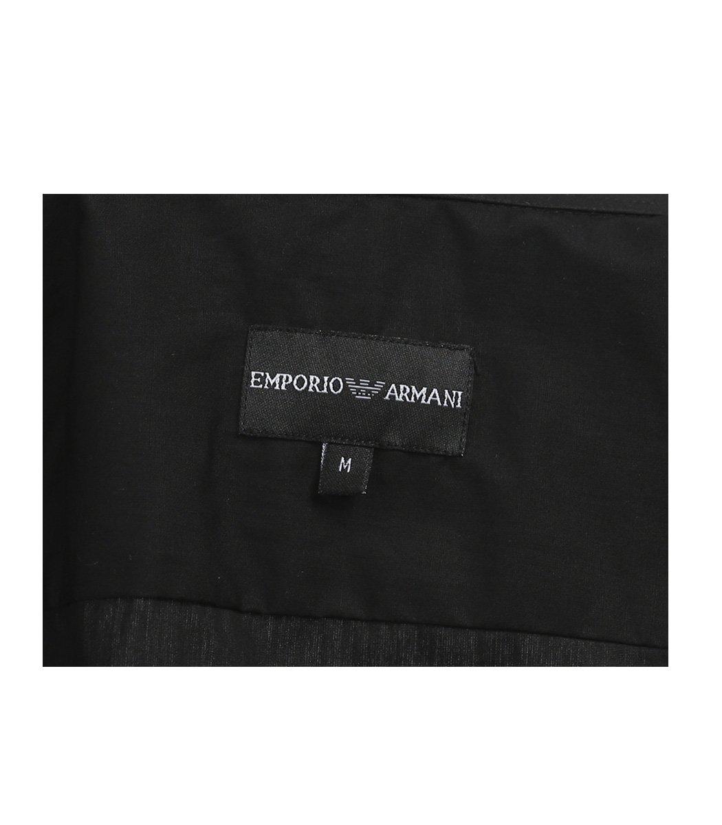 Черная рубашка Emporio Armani