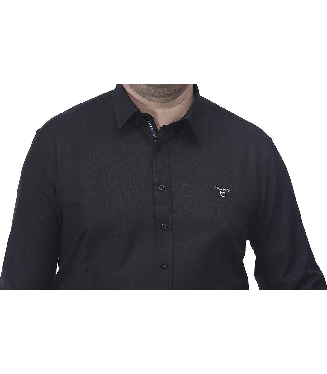 Черная классическая рубашка GANT RG1