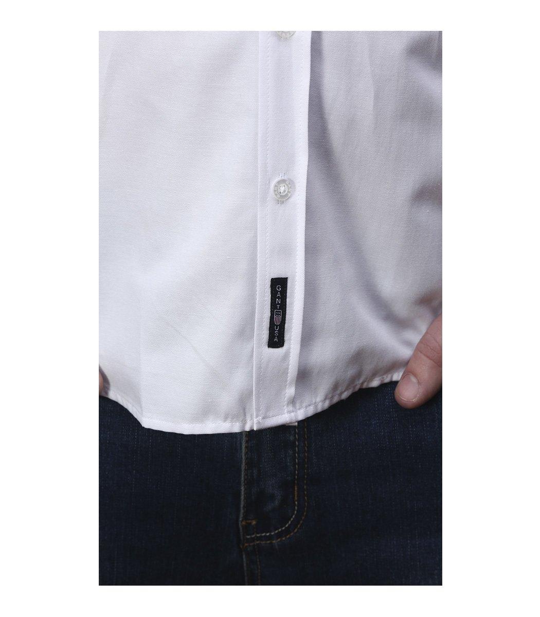 Белая классическая рубашка GANT RG1