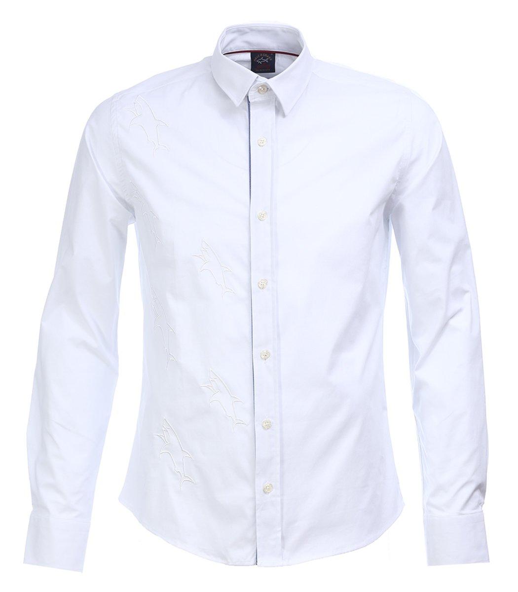 Белая рубашка Paul&Shark - Белый - Вид 1