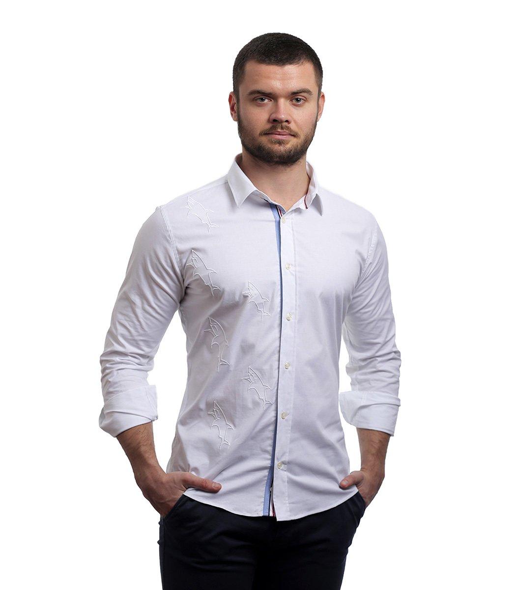 Белая рубашка Paul&Shark - Белый - Вид 2