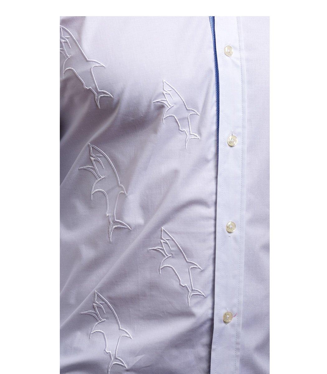 Белая рубашка Paul&Shark - Белый - Вид 5