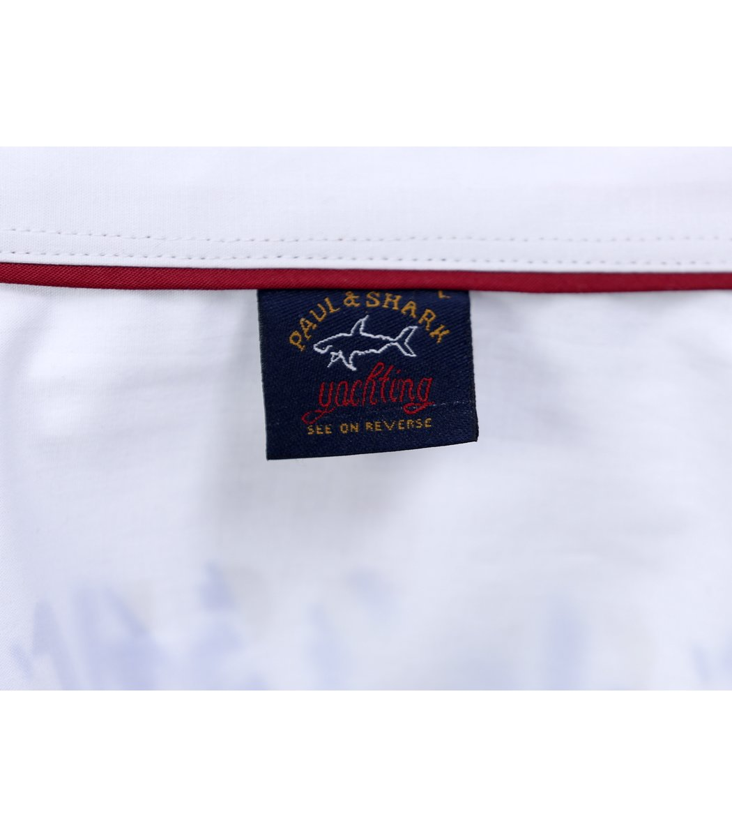 Белая рубашка Paul&Shark - Белый - Вид 7