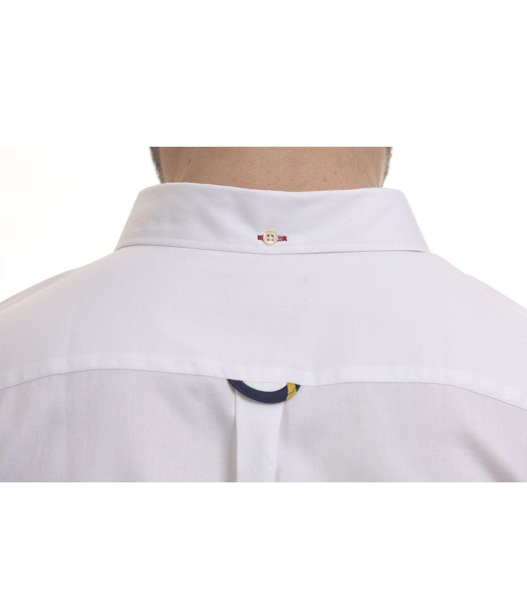 Белая рубашка POLO Ralph Lauren classic - Белый - Вид 6