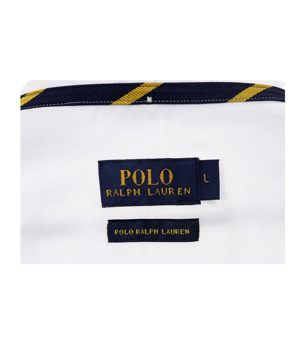 Белая рубашка POLO Ralph Lauren classic - Белый - Вид 8