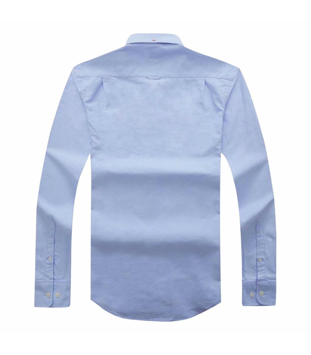 Голубая рубашка GANT RG2