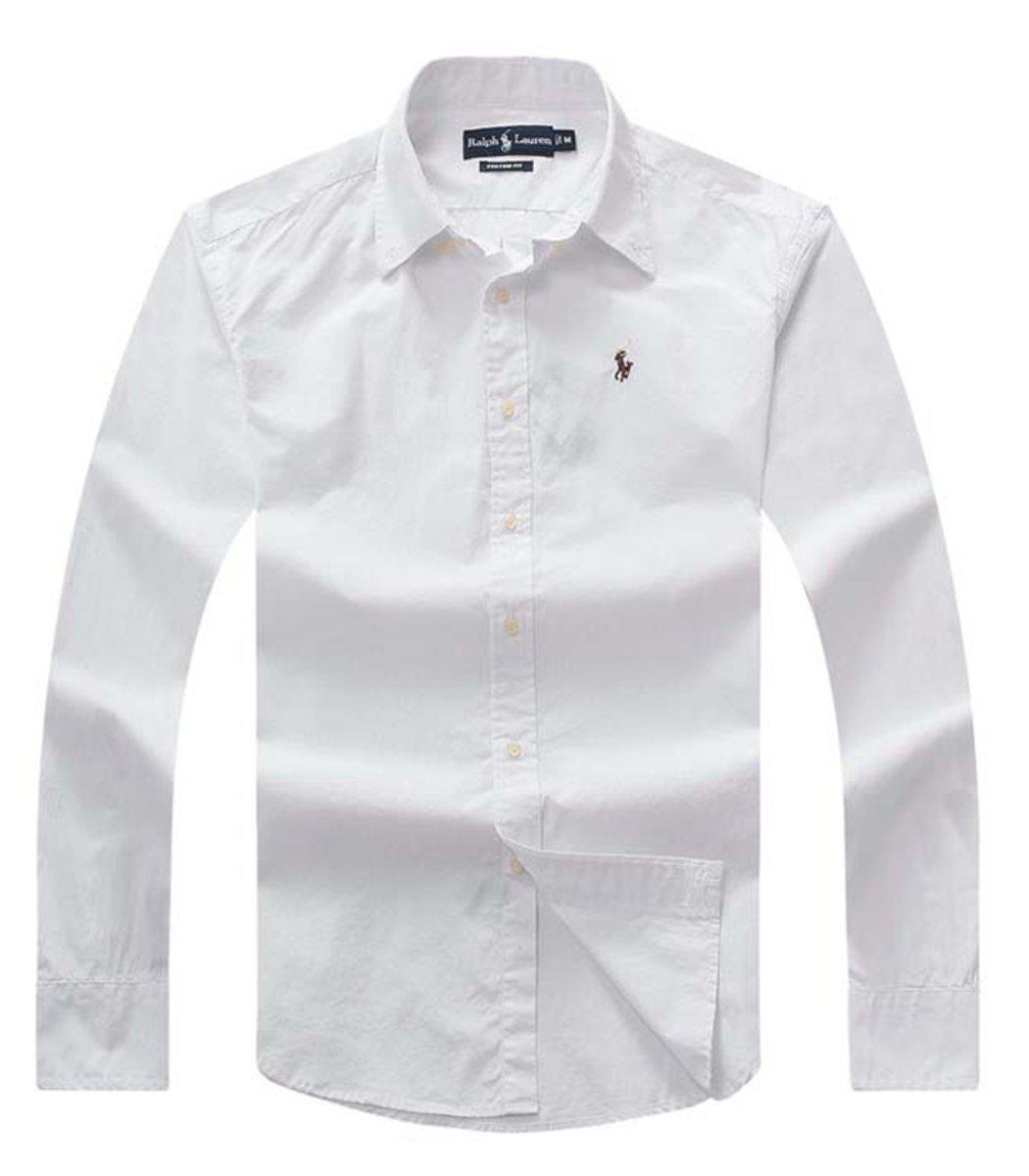 Рубашка POLO Ralph Lauren RR3 (Белый) - Белый - Вид 1