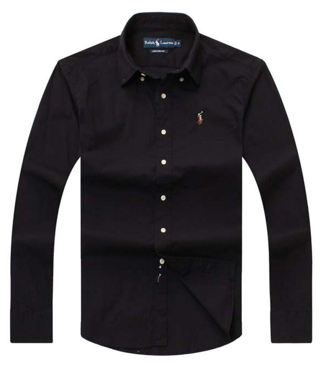 Рубашка POLO Ralph Lauren RR3 (Черный)