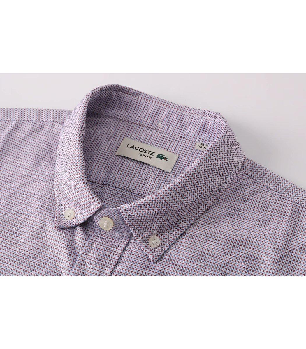 Рубашка Lacoste в мелкую клетку RL3