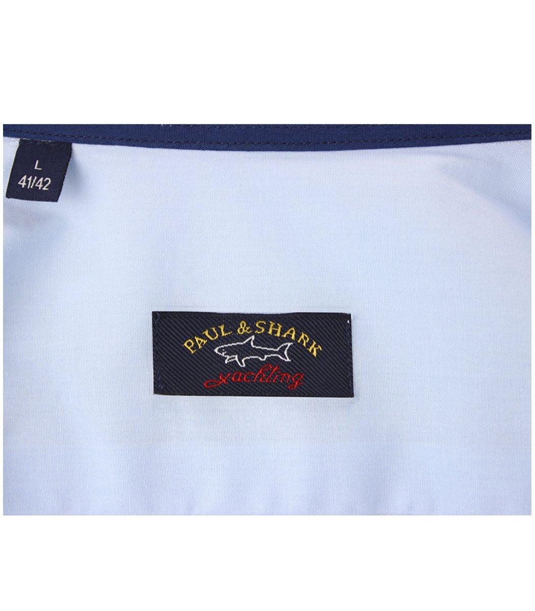 Голубая рубашка Paul&Shark 76 RP1