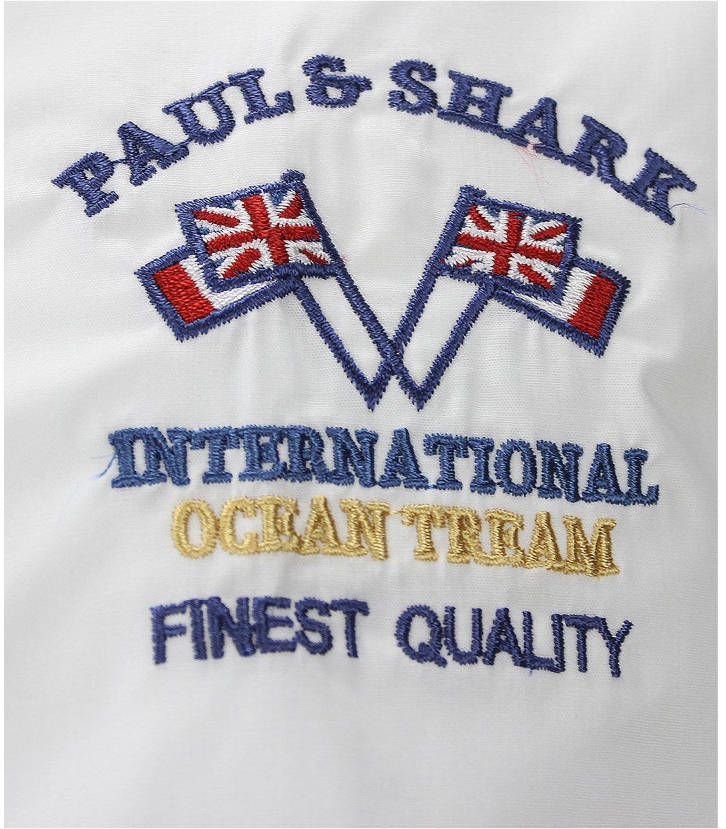 Белая рубашка Paul&Shark 76 RP1