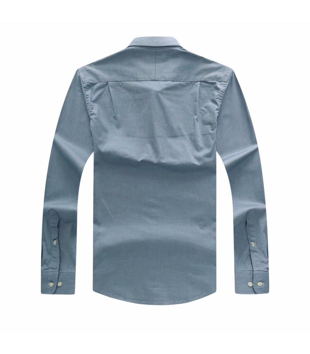 Серо-голубая рубашка POLO Ralph Lauren в клетку RR5