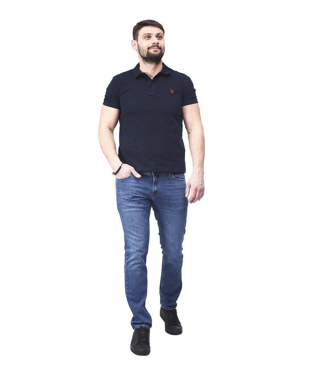 Синие джинсы Hugo Boss 9114 - Синий - Вид 4