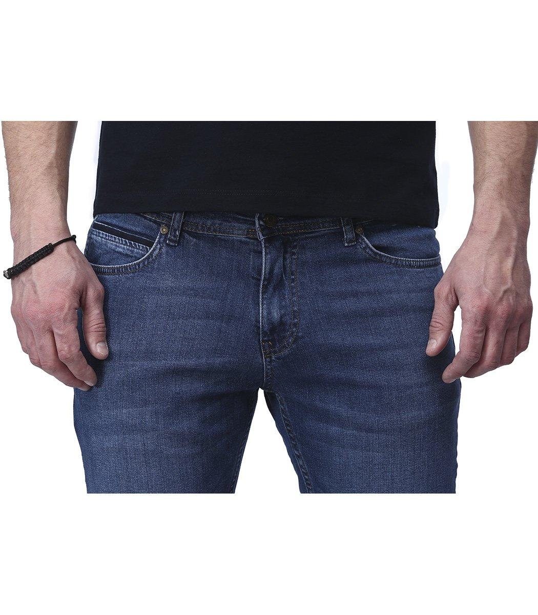 Синие джинсы Hugo Boss 9114 - Синий - Вид 5