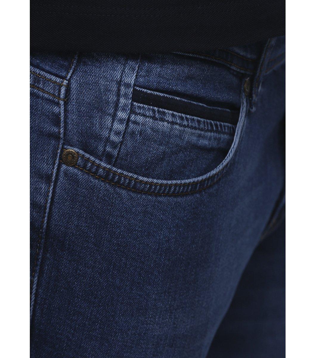Синие джинсы Hugo Boss 9114 - Синий - Вид 6