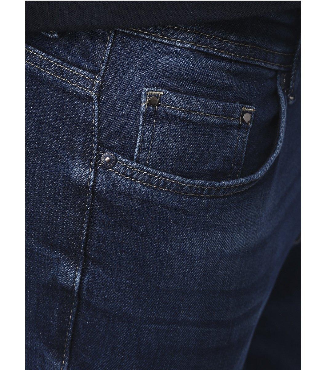Cиние джинсы Hugo Boss 9120