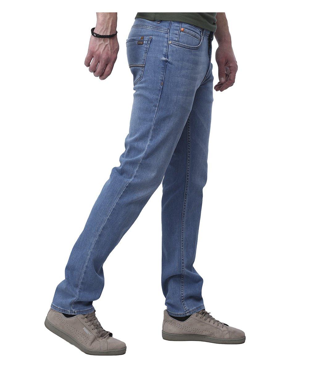 Голубые джинсы Hugo Boss 9112
