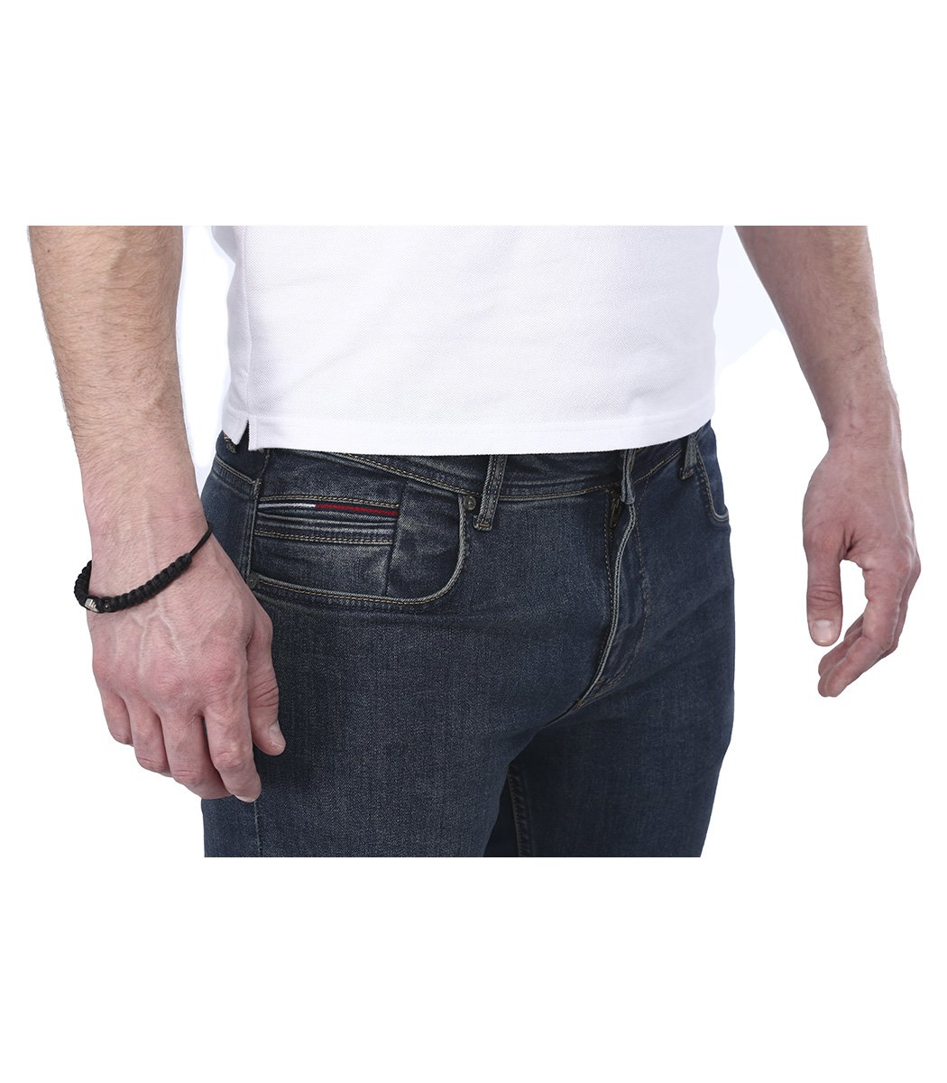 Темно-синие джинсы Tommy Hilfiger 968 - Темно-синий - Вид 4