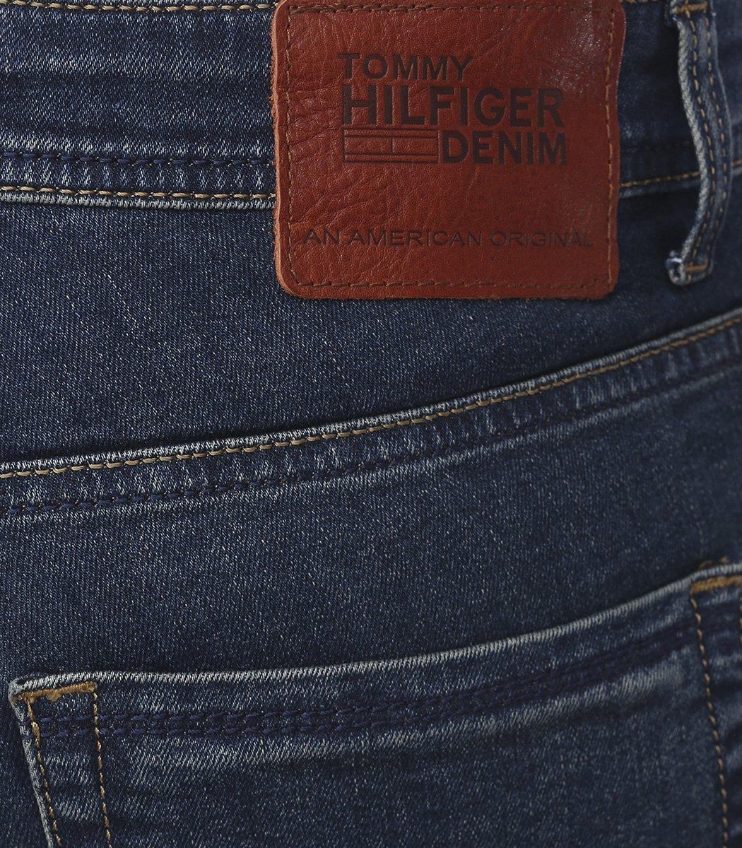 Темно-синие джинсы Tommy Hilfiger 968 - Темно-синий - Вид 5